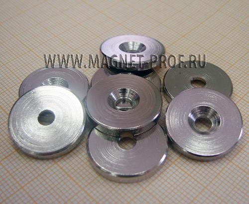 Металлическая шайба D20мм