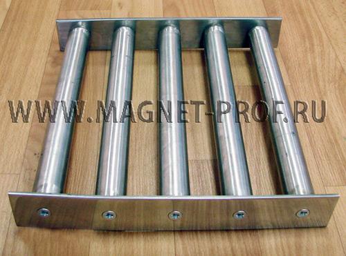 Магнитная решетка 250x250х40мм. (без самоочистки)