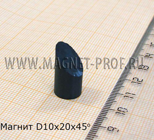 Ферритовый магнит Y35 D10x20х45