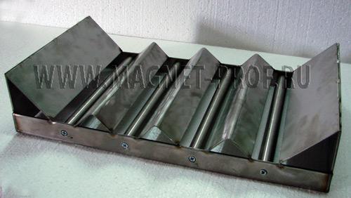 Магнитная решетка 550х300х40 с рассекателями