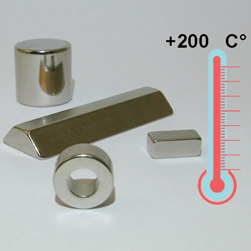 Температуростойкие магниты