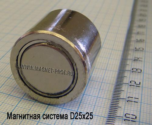Магнитная система D25x25