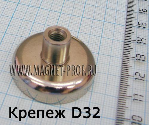 Магнитный держатель D32