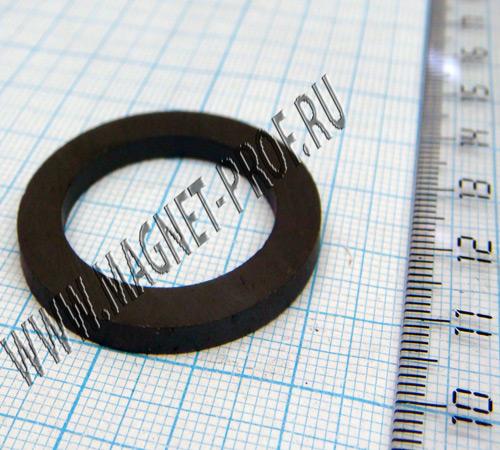 Ферритовый магнит Y30Н1 D35,8xd25x4,5