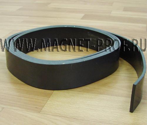 Магнитная лента 2.5мx40ммx4мм без клеевого слоя