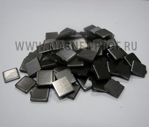 Металлическая пластинка 10х10х2мм