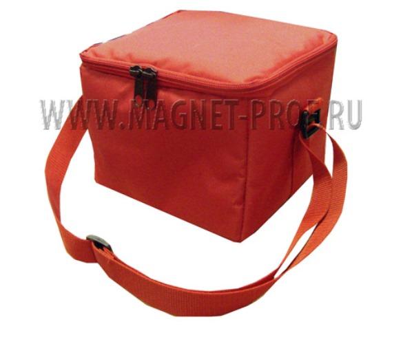 Сумка красная для поискового магнита