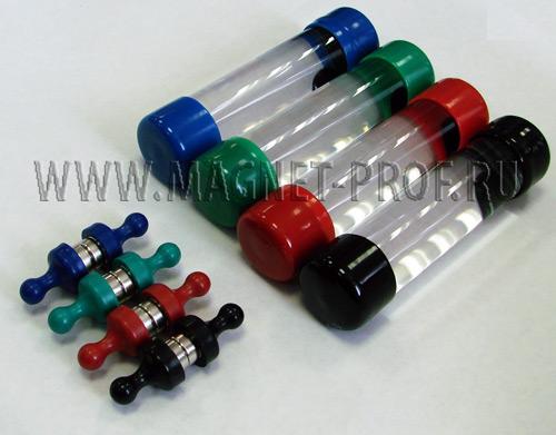 Магнитная жидкость (прозрачная)  цветной колпачек