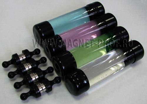 Магнитная жидкость (цветная) черный колпачек