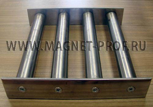 Магнитная решетка 208x200х40мм. (без самоочистки)
