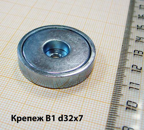 Магнитный держатель B1 d32x7