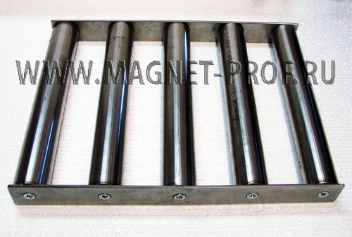 Магнитная решетка 300x400x43xd43мм. (без самоочистки)