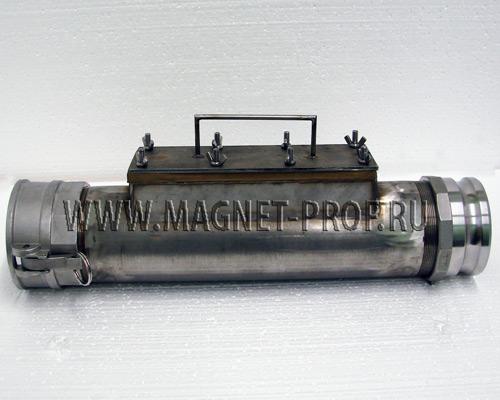 Магнитная труба D114x300x400xd32 мм.
