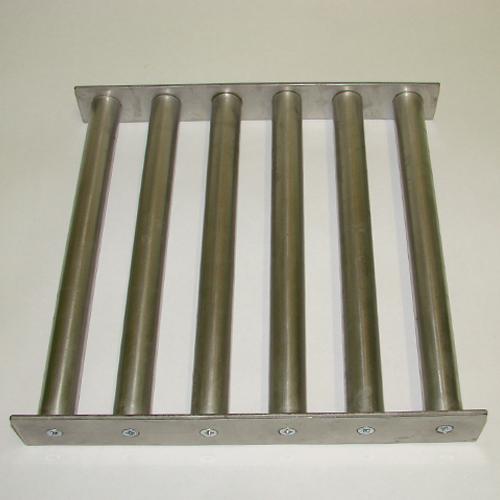 Магнитная решетка 300x300x40-6d25