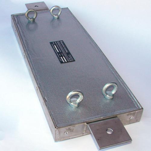 Магнитный улавливатель 490x187x37 мм.