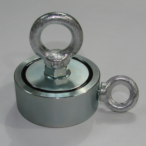 Поисковый двухсторонний  магнит F100x2