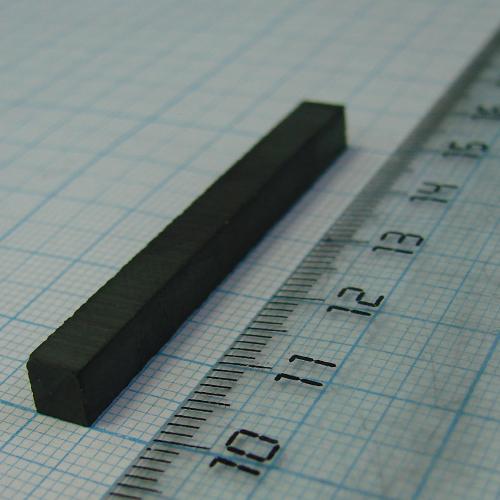 Ферритовый магнит Y35 50x5x5мм.