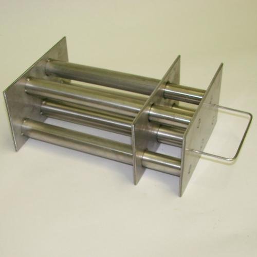 Магнитная решетка  190x170x100-5d25мм. (с самоочисткой)