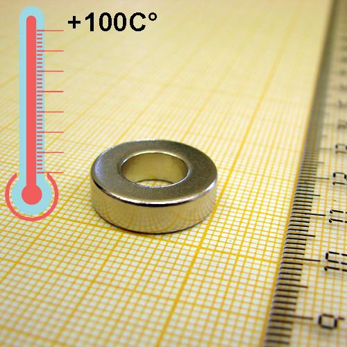 Неодимовый магнит D17,6xd9x5 мм,N35M