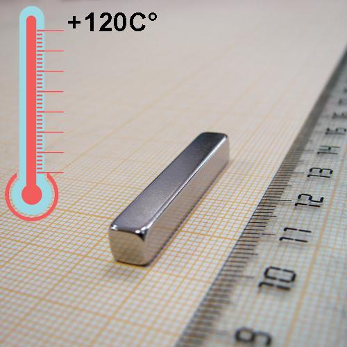Неодимовый магнит пластина 35x5.5x5.5, N33H