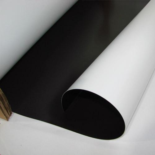 Магнитный винил с матовым ПВХ слоем 0.5мм.