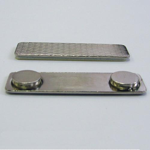 Магнит для бейджей 45х13мм (металл)