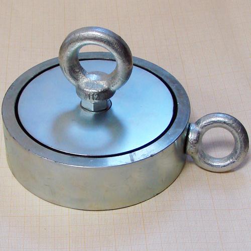 Поисковый двухсторонний  магнит F600x2 (600 кг)