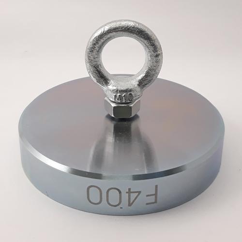 Поисковый односторонний магнит F400 (400 кг)