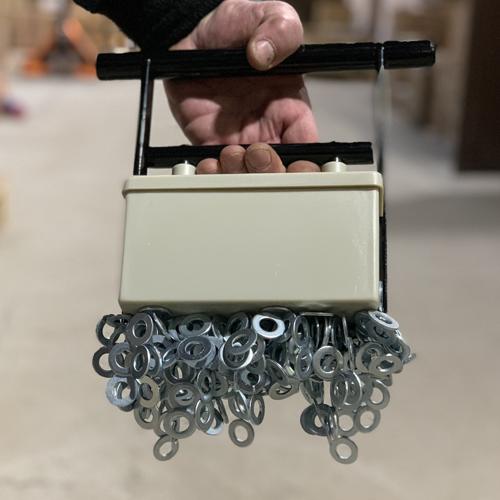 Магнитный коллектор для сбора стружки