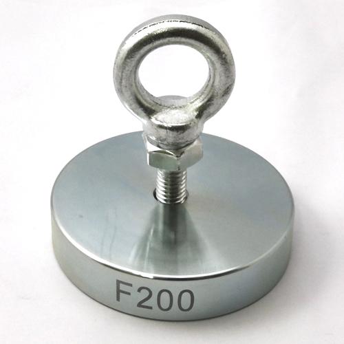 Поисковый односторонний магнит F200 (200 кг)