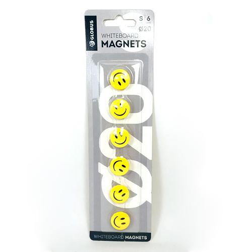 Набор магнитов на холодильник «Смайлик»