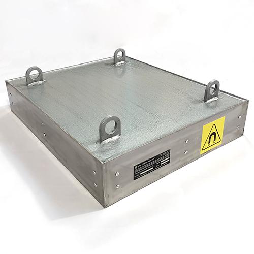 Магнитный улавливатель 550x450x150 мм.