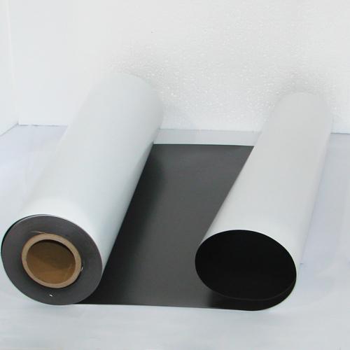 Магнитный винил толщиной 0.4 мм с клеем (30.5 метров)