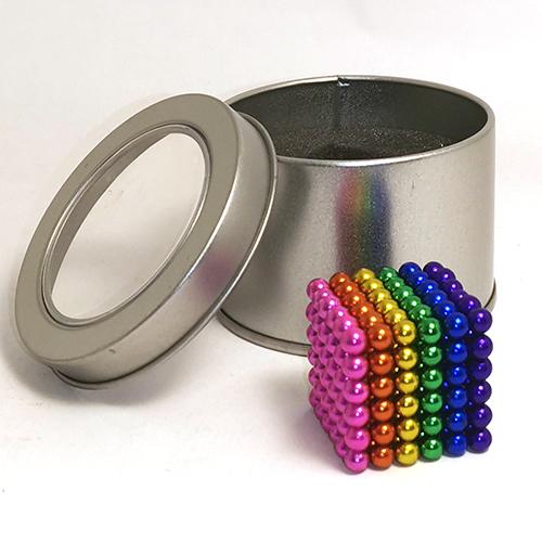 Разноцветный неокуб - 216 шариков диаметром 5 мм.