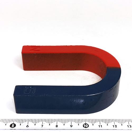 Цветной магнит - подкова  U80x62x10x20