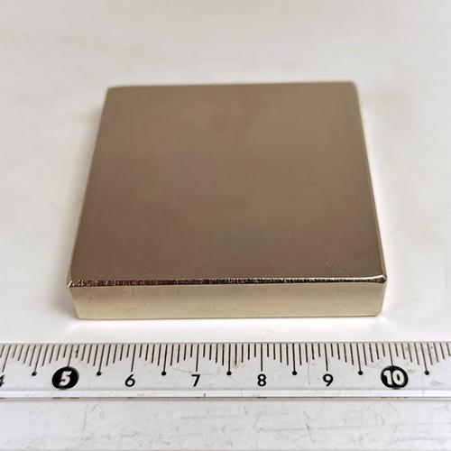 Неодимовый магнит пластина 50x50x10 мм., N35