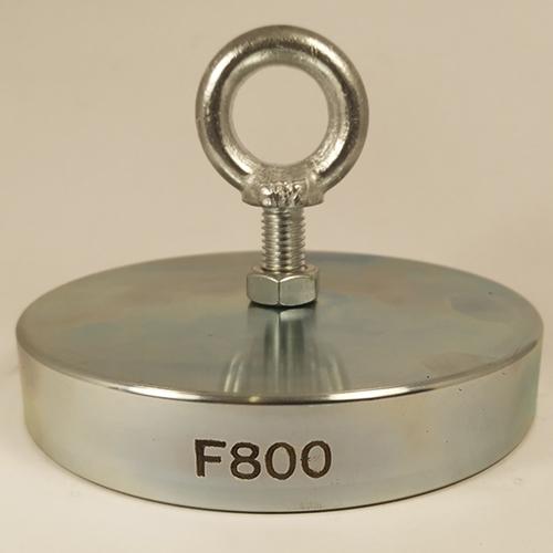 Поисковый односторонний магнит F800 (800 кг)