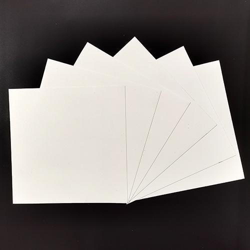 Белые квадраты из магнитного винила 202х202 мм