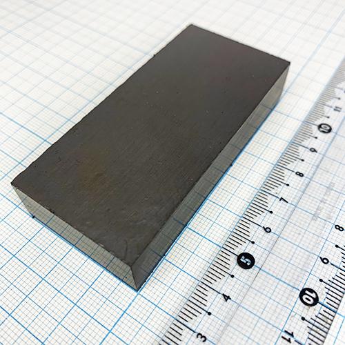 Ферритовый магнит 75x35x15мм.(25БА170)
