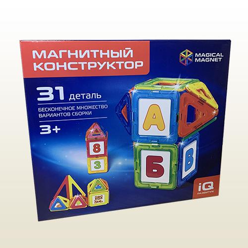 Магнитный конструктор Magical Magnet 31 деталь.