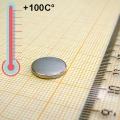 Неодимовый магнит диск D12x1,5 мм., N35M
