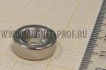 Неодимовый магнит кольцо с зенковкой D15xd4,5/10x5 (зенк.)