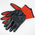 Перчатки нейлоновые с резиновым обливом