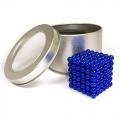 Синий неокуб - 216 шариков диаметром 5 мм.